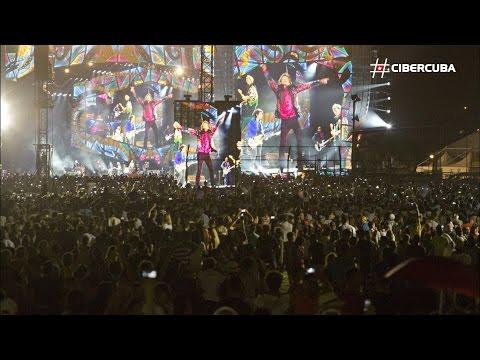 Histórico: los Rolling Stones tocaron en Cuba ante medio millón de personas