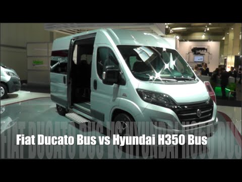 fiat ducato bus 2015 vs hyundai h350 bus 2015 youtube. Black Bedroom Furniture Sets. Home Design Ideas