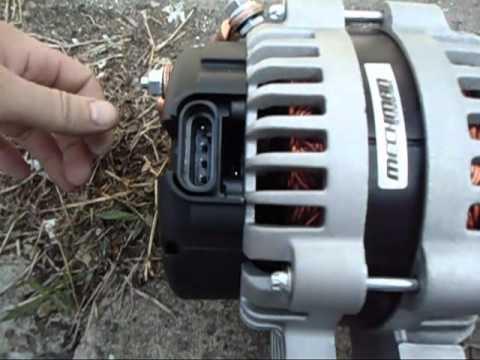 hqdefault mechman alternator install youtube mechman alternator wiring diagram at gsmx.co
