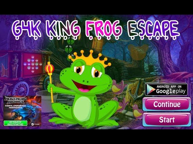 G4k King Frog Escape Wal…