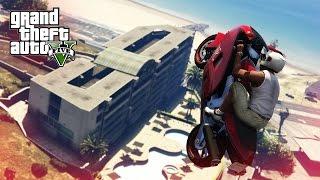 AWESOME BIKE STUNT! - (GTA 5 Stunts & Fails)