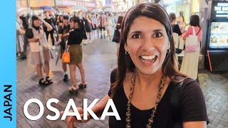 JAPAN: OSAKA things to do - Shopping in Shinsaibashi & Doton...