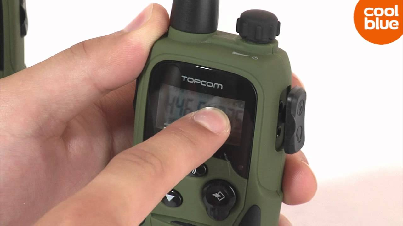 Toppen Topcom Twintalker 9500 Airsoft Edition review en unboxing (NL/BE UV-33