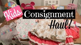 Huge Kids Consignment Haul!
