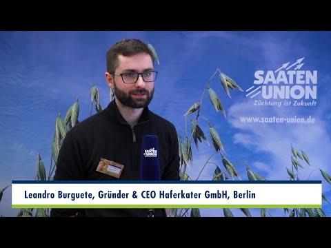Haferkongress 2020   Interview Leandro Burguete, CEO Haferkater GmbH, Berlin