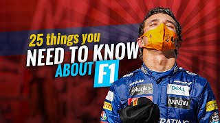 25 Things you need to know about F1