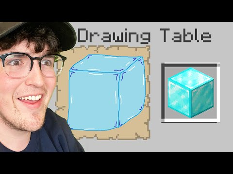 Minecraft, But Every Item You Draw You'll Get