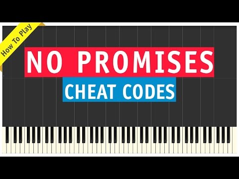 Cheat Codes ft. Demi Lovato - No Promises - Piano Cover (How To Play Tutorial)