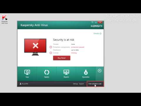 How to activate trial version of Kaspersky Anti-Virus 2014