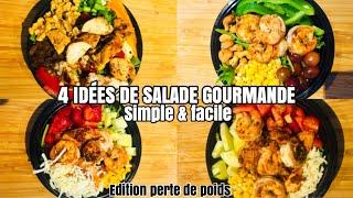 VENEZ M'AIDER EN CUISINE ! IDÉES SALADE GOURMANDE ( EDITION PERTE DE POIDS )