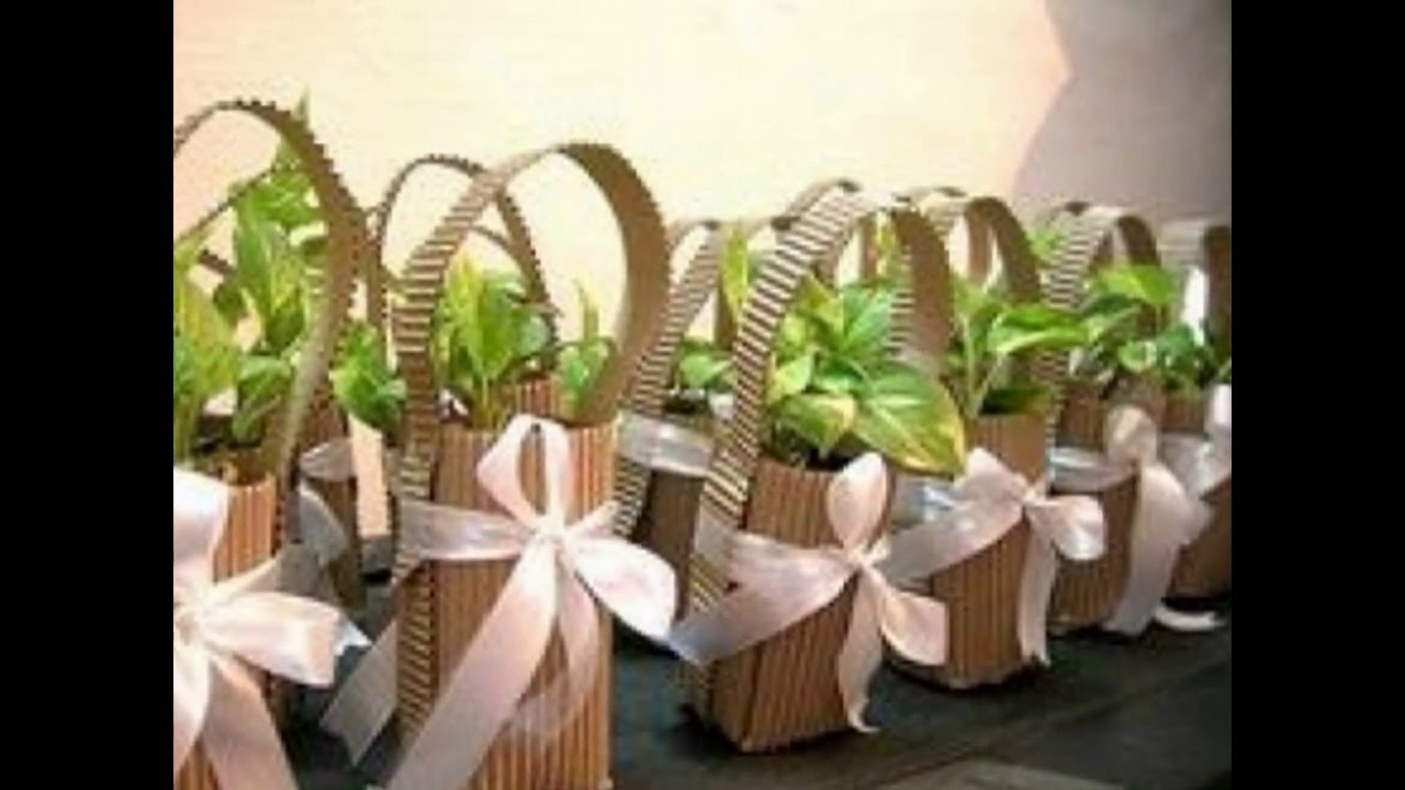 Souvenir ideas originales para eventos usando plantas for Decoracion con plantas para fiestas