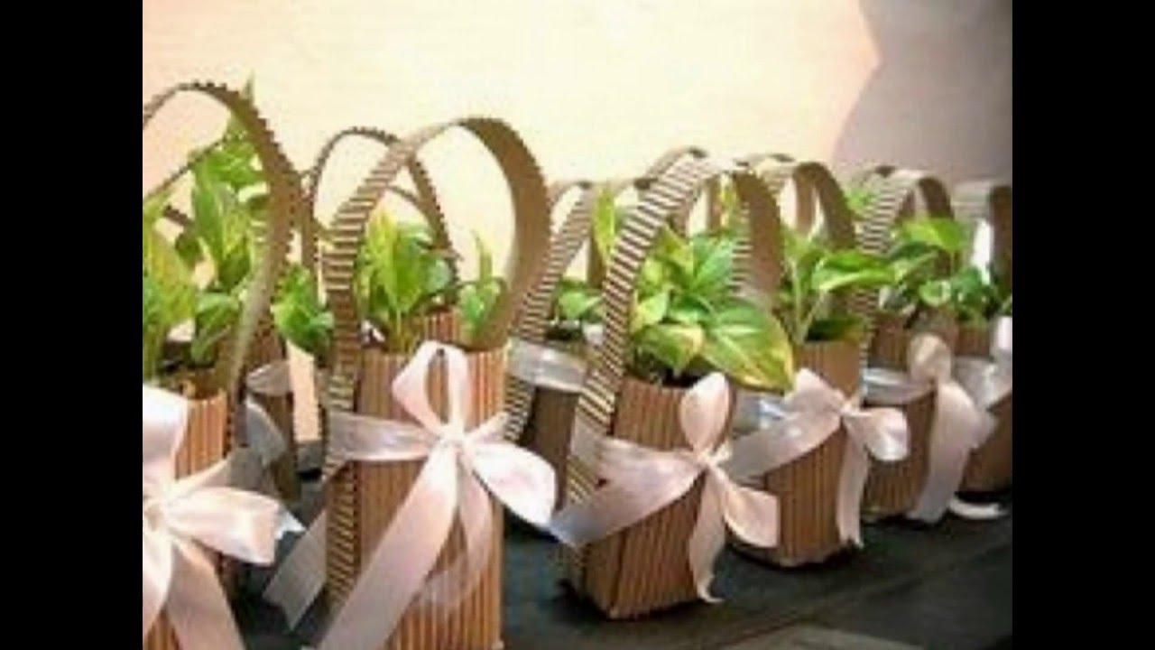 Souvenir ideas originales para eventos usando plantas - Macetas originales para plantas ...