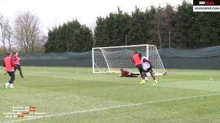 Manchester City Five A Side Training [hd]