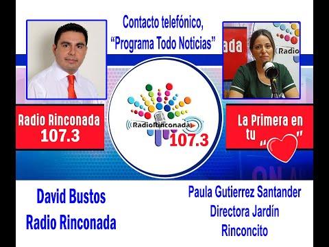 Paula Lissette Gutiérrez Santander, Directora del jardín Rinconcito, nuevo año académico