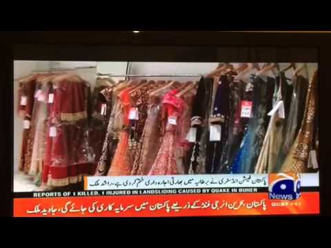 Pakistani fashion industry competes with India,says fashion designer Rashid  Malik