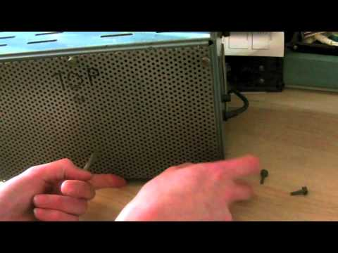 Vintage Power Supply & Binding Post Replacement Part 1