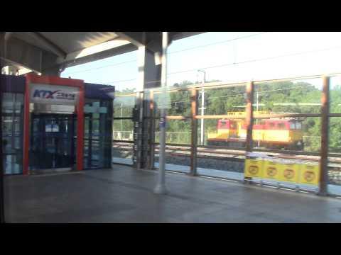 Korean KTX Train Ulsan to Seoul