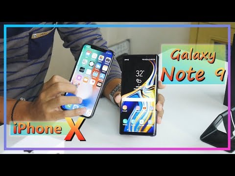 Galaxy Note 9 vs iPhone X ซื้ออะไรดี ?
