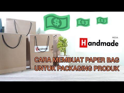 CARA MEMBUAT PAPER BAG UNTUK PACKAGING PRODUK