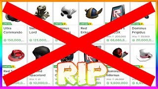 Roblox is DONE Making Limiteds...? *SAD*