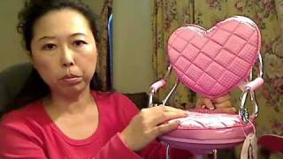 Doll Salon Chair Review.wmv