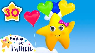 Learn Colors with Best Friends | Kids Songs & Nursery Rhymes | ABC & 123 | Learn with Twinkle