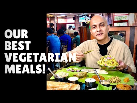 Our 7 BEST TRADITIONAL VEGETARIAN MEALS| Karnataka Jolada Rotti, Thali, Kerala Sadhya, Andhra, Tamil