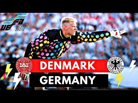 Denmark Vs Germany 2-0 All Goals \u0026 Highlights ( EURO 1992 Final )