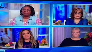 "Meghan McCain and Whoopi Goldberg fight on ""The View."""