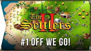 The Settlers 2 ► #1 Off We Go - Roman Campaign & Retro RTS City-building Gameplay!