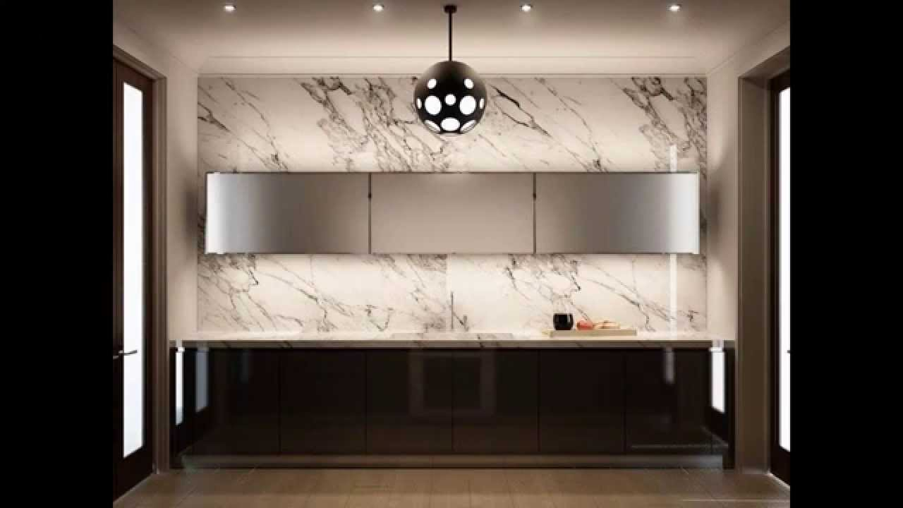 cool contemporary kitchen backsplash ideas - youtube