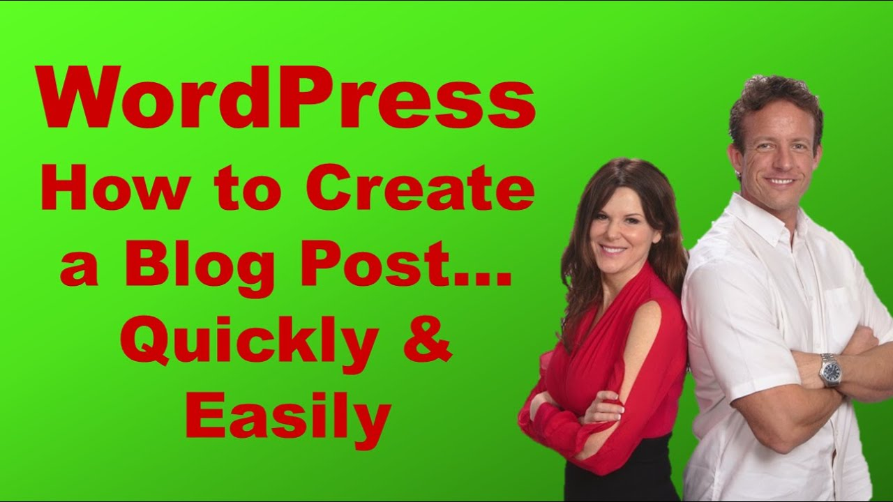create a blog with wordpress