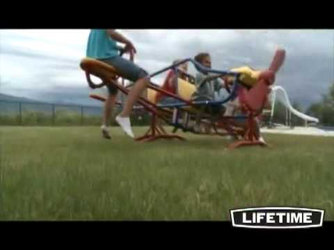 Nashville Swingsets & Playsets Tennessee. The Ultimate Lifetime Ace Flyer Teeter Totter