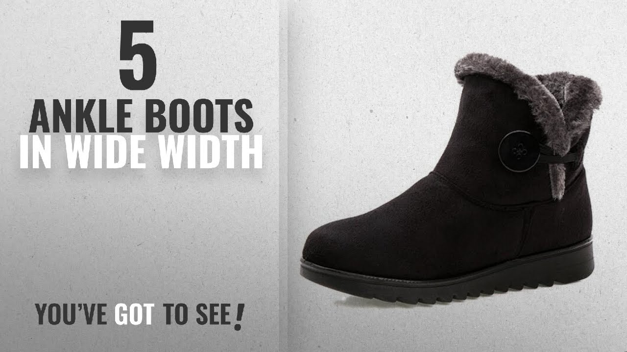 Fur Lined Womens Snow Boots Winter