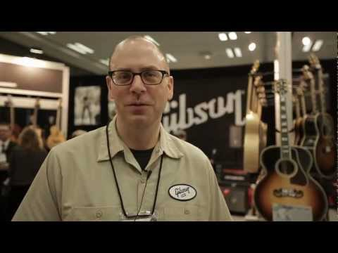 Gibson USA: NAMM 2012 Product Showcase