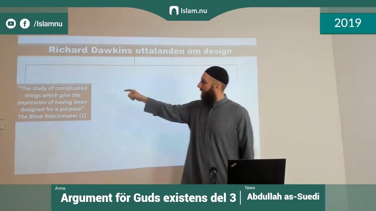 Argument för Guds existens | del 3 av 4 | Shaykh Abdullah as-Sueidi