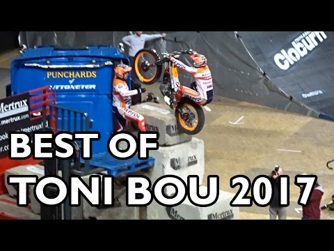 Best of Toni Bou 2017 - Sheffield Indoor Trial