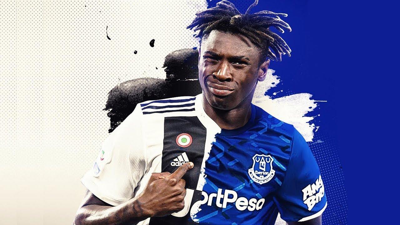 Moise Kean New Everton Striker Youtube