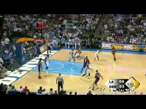 2008-09 NBA Season:Lakers VS Nuggets [HD] 1.11.08