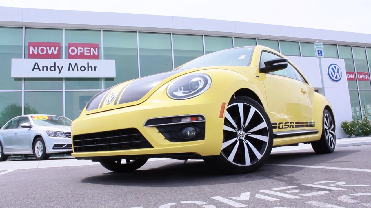 rare  vw beetle gsr andy mohr volkswagen indianapolis indiana youtube