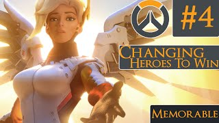 Repeat youtube video OVERWATCH - Switching Heroes for a Breakthrough [Route 66]