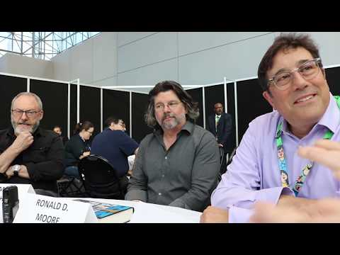 Liam Cunningham, David Kanter & Ronald D. Moore discuss Philip K. Dick's Electric Dreams @ NYCC'17