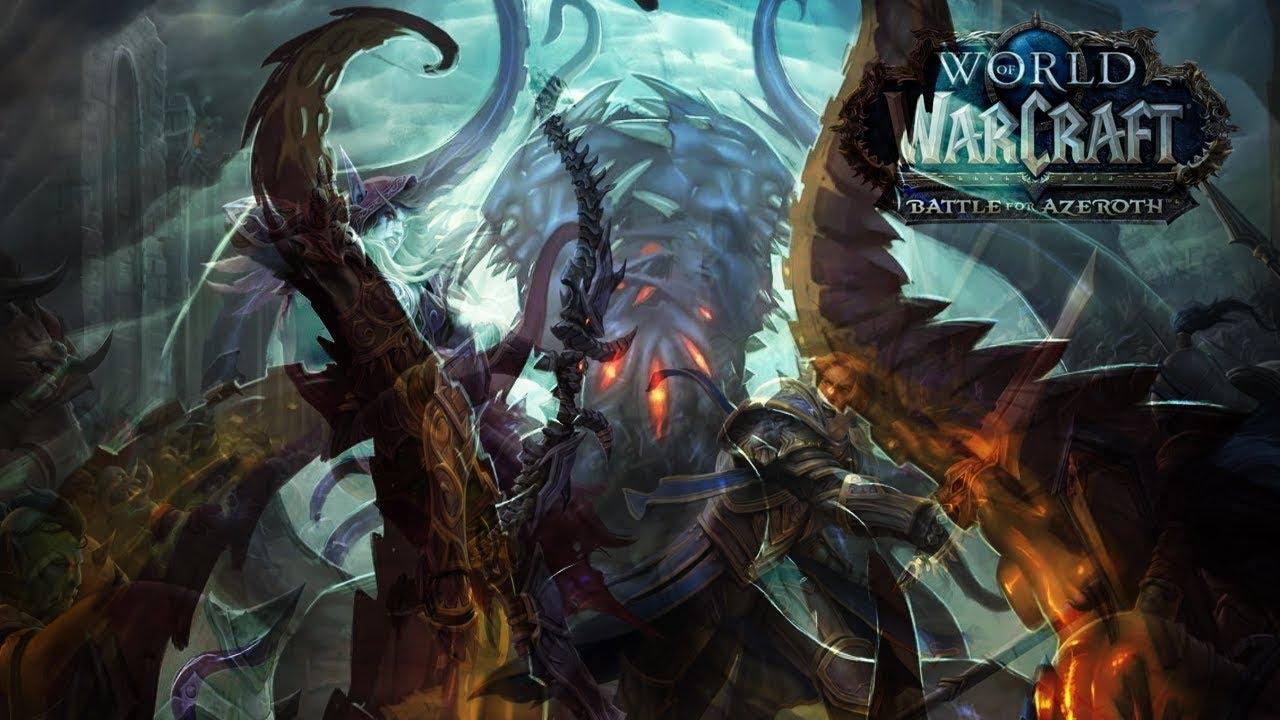 World Of Warcraft Wallpaper Bfa: WoW BfA Alpha Livestream Mitschnitt