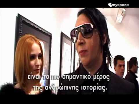 Marilyn Manson Exclusive Interview  On Myspace Greece!!!