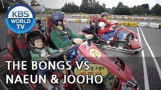 Who will win this race?! The Bongs VS Naeun & Jooho [The Return of Superman/2018.11.11]
