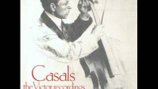 Pablo Casals plays Moment Musical, Prize Song & Melody in F