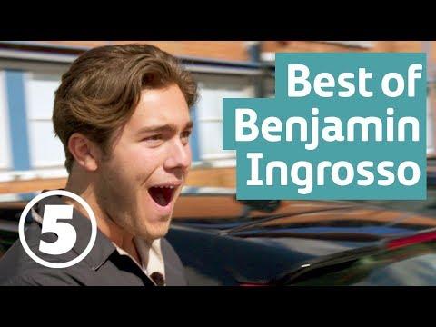 Pasta, rövhål och glädjerus | Best of Benjamin Ingrosso part 1 | Wahlgrens värld | English subtitles