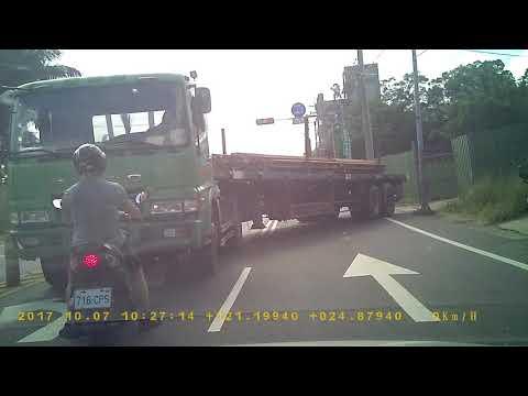 連結車776-W8逆向行駛工地無人指揮壓壞公物妨害交通2-2.PICT5071