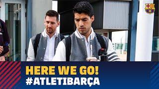 Trip to Madrid ahead of game against Atlético de Madrid