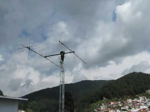 2 B Ground Station DUTHSat Antennas Tracking